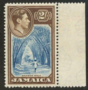 Jamaica, Scott #126, Unused, Hinged