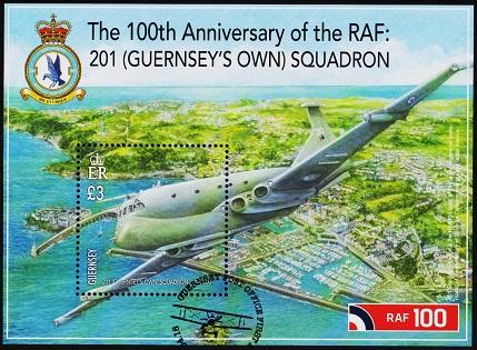 Guernsey. 2018  £3 Miniature Sheet. Fine Used