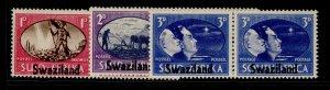 SWAZILAND GVI SG39-41, VICTORY set, NH MINT.
