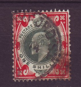 J24538 JLstamps 1902-11 great britain used #138 king