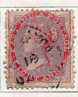 INDIA- 1856- sg no 48 no  w/m   fine used cv 40 gbp ( app 4000.00rs )