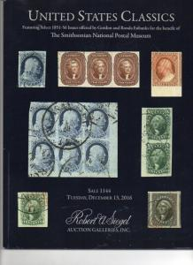 Siegel Auction Catalog of US Classics