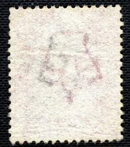 GB WALES QV Stamp RARE NUMERAL *B42*WALTON Radnorshire 1d Red Plate 102 BLRED132