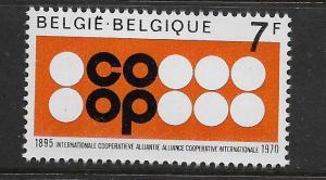 BELGIUM, 743, MNH, COOP