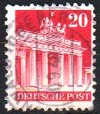Mi:85 wg 1948 used Cat €  0.60