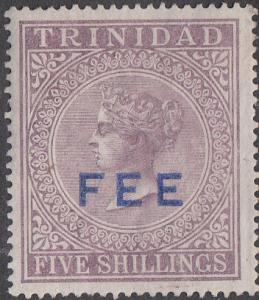 Trinidad  Revenue - Fee OP on #57 Unused NG