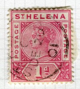 ST. HELENA; 1890-97 early QV issue fine used 1d. value