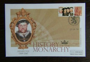 Great Britain 2008 History of the Monarchy Henry VIII Cover