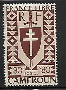 CAMEROUN 287 MINT HING 1941 ISSUE
