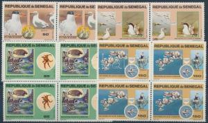 Senegal stamp National Park set in blocks of 4 MNH 1981 Mi 741-744 WS159754