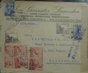 O) 1938 SPAIN, JUAN DE LA SIERVA AND HIS AUTOGIRO OVER MADRID-SCOTT AP30- AUTOGR