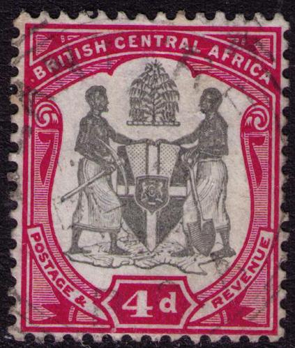 British Central Africa #  46  Used VF CDS Cat $2.25