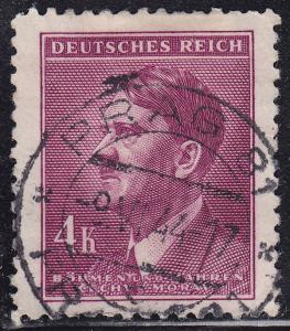 Czech B&M 76 USED 1942 WWII Adolf Hitler Looking Left 4k