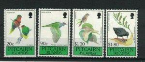 MPN21) Pitcairn Islands 1990 Birds MUH