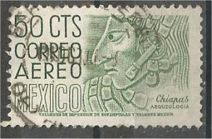 MEXICO, 1950, used 50c, Definitive Scott C193