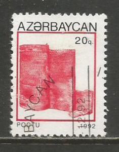 Azerbaijan   #365  Used  (1992)