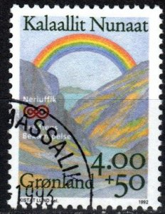 Greenland #B16 F-VF Used CV $4.50  (X4184)