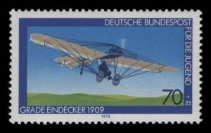 Germany Scott #B552 OG MNH eGraded With Certificate Superb 95