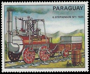 Paraguay #1399c 1972 Mint H