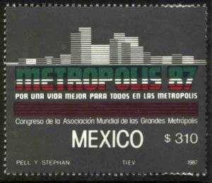 MEXICO 1479 Congress of Metropolitan Areas MNH