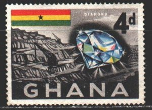Ghana. 1959. 54from the series. Diamond gemstones. MVLH.