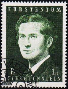 Liechtenstein. 1970 1f70 S.G.526 Fine Used