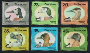 Zimbabwe Wild Ducks and Geese 6v SG#740-745 CV£6.35