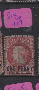 ST HELENA  (P0705BB)  QV  1 D  SG 8    VFU