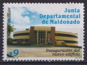 Uruguay 1999 Maldonado Department Council Building  (MNH)  - Architecture