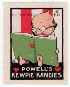 (I.B) US Cinderella : Kewpie Kandies Promo Stamp 6 (The Teacher)