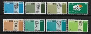 IRELAND, 206-213, MNH, IRISH REPUBLIC