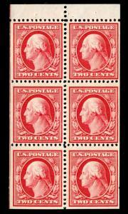 momen: US Stamps #332a Mint OG NH Booklet VF