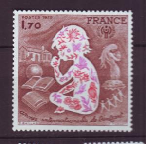 J20191 jlstamps 1979 france mh #1624 child