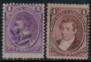 Argentina #22-3  CV $3.00