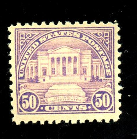 570 MINT F-VF OG NH Cat$75