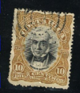 Costa Rica #48   used VF 1901 PD