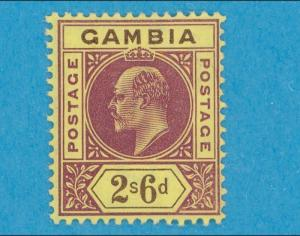 GAMBIA 38 - MINT LIGHTLY HINGED OG * NO FAULTS VERY FINE !