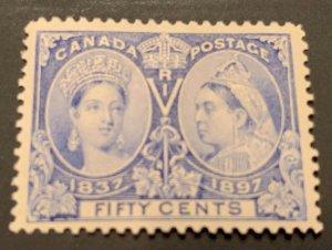 Canada #60 MINT VF H Jubilee C$500.00