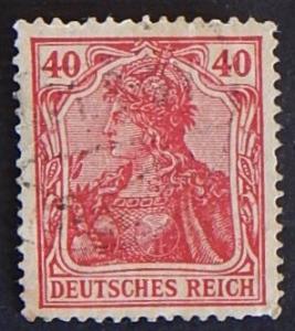 Reich, 1920, Germany, MC #145, ((7-(4G-7IR))