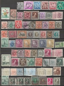 COLLECTION LOT # 5645 BELGIUM 82 STAMPS CLEARANCE