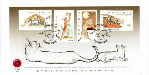 Namibia - 2018 Small Felines FDC
