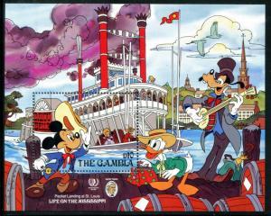 Gambia 659, MNH, Disney characters 1985. x14396b