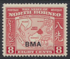 North Borneo  SG 325 SC# 213 MLH  OPT BMA  See scans / details