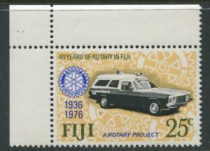 Fiji - Scott 366 - Rotary Anniversary - 1976 - MNH- Single 25c Stamp