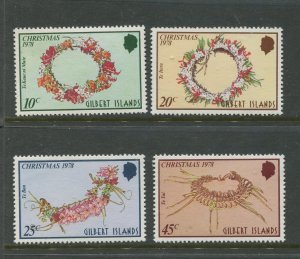 STAMP STATION PERTH Gilbert Is.#317-320 Christmans Issue MNH 1978 CV$1.00