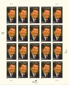US 4078 - 39¢ Ronald Regan Unused