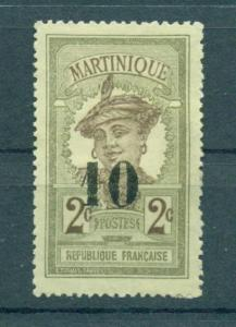 Martinique sc# 106 mng cat value $2.10