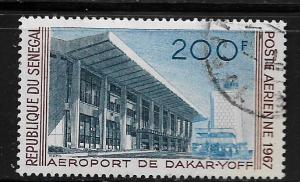 SENEGAL, C52, USED, DAKAR-YOFF AIRPORT