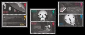 GB 3885-3890 Agatha Christie set (6 stamps) MNH 2016