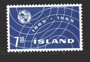 Iceland. 1965. 391 from the series. Radio Iceland. MNH.